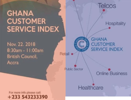 Customer Service Survey – Maiden Ghana Customer Service Index by Institute of Customer Service Professionals.